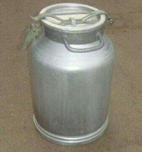 Бидон 40л алюминевый