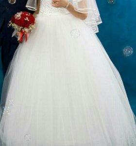 Свадебное платье.Торг!