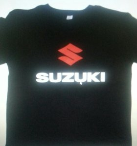 Мотофутболка suzuki