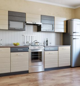 Кухонный гарнитур 2.0 м фасады МДФ