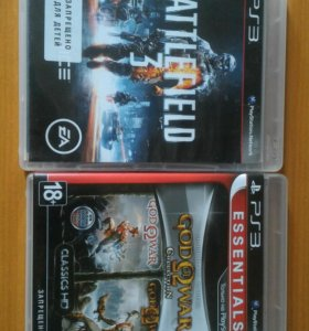 Battlefield 3, God of war collection ps3