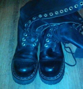 Ботинки на 16 колец (гады) 45 размер