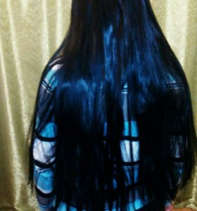 Наращивание волос на трессы