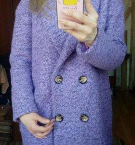 Пальто женское+ подарок - пашмина!))))