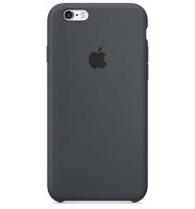Чехол для iPhone 6/6s Silicon Gray (original)
