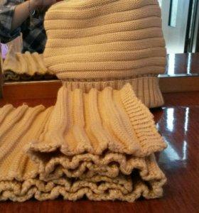 Шапка -шарф