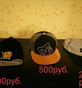 Кепки и шапка