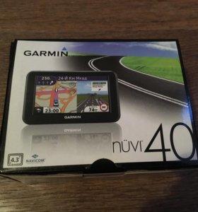 Навигатор Garmin Nuvi 40