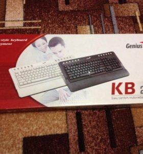 Новая клавиатура Genius KB 220