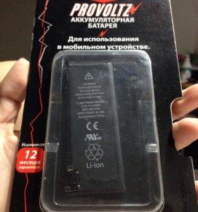 Аккумуляторная батарея на айфон 4s