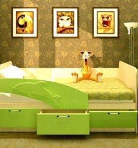 Кровать детская 160 новая