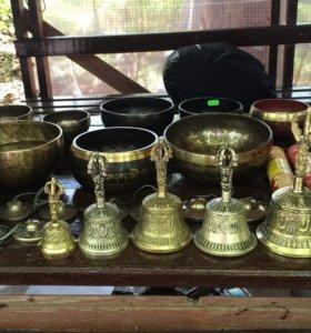Поющие чаши из Тибета