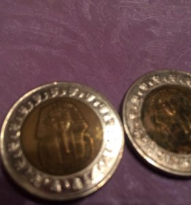 Монеты Египет