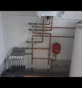 Монтаж электро отопления