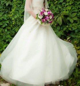 Свадебное платье, подъюбник