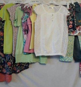Пакет летних вещей для девочки 152-164