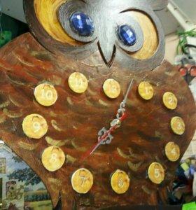 Часы ,денежное дерево