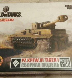 Сборочная модель танка Тигр.