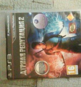 Диск на PlayStation3: Дурная репутация 2