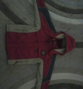 Курточка на мальчика 9ть -11 ть лет демисизонная
