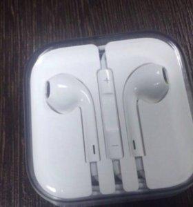 Наушники Ear Pods Новые Реплика