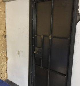 Дверь стальная