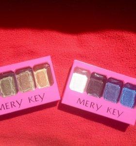 Тени Mery Key с блесками