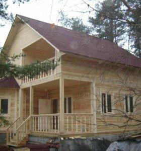 Деревянные дома: рубленные, брусовые, каркасные