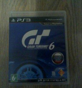 """""""Gran Turismo 6"""" на PS3"""