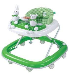 Ходунки Happy Baby Smiley Green