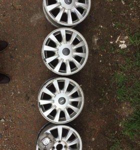 Литые диски Hyundai