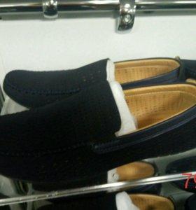 Мокасины туфли слипоны кеды