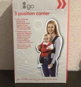Переноска-рюкзак для ребенка (кенгуру)