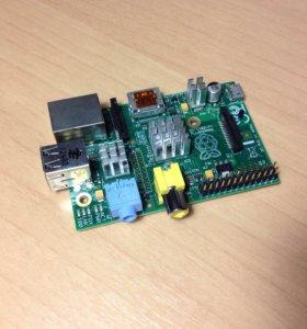 Raspberry pi 2 model B + SD карта  8gb