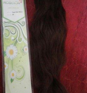 Волосы для холодного наращивания