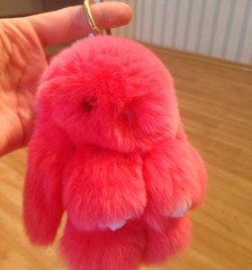 Зайчик кролик брелок