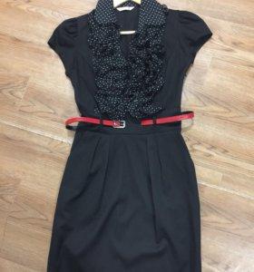 Платье чёрное р.42-44