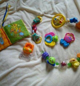 игрушки-погремушки от 0