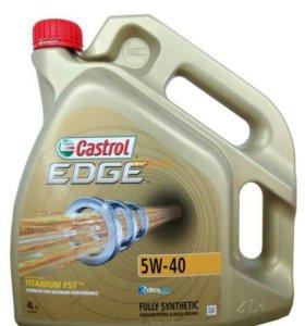 Castrol EDGE Titanium FST 5W40 синтетическое масло