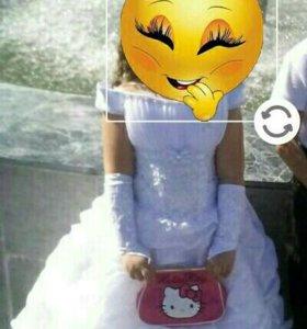 Шикарное платье на выпускной в детском саду торг у