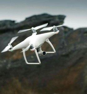 Видеокоптер (квадрокоптер) Phantom 4 на прокат.
