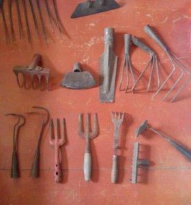 Садовые инструменты, строй материалы, огород