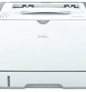 Принтер Ricoh sp311DNw