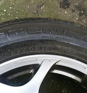 Комплект колес летний!!!