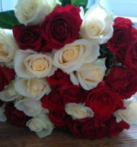 Букеты на свадьбу, юбилей, выпускной, торжество