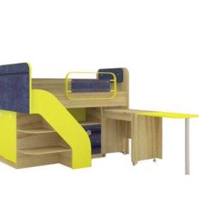 Кровать детская комбинированная