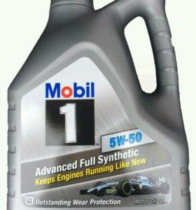 Масло моторное Mobil 1 5W50 4л (мобил)