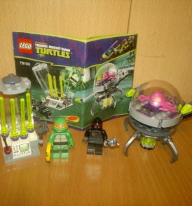 Лего Lego Teenage Mutant Ninja Turtles 79100