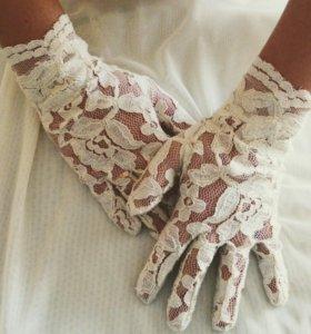 Перчатки ручной работы р-р 7-7,5