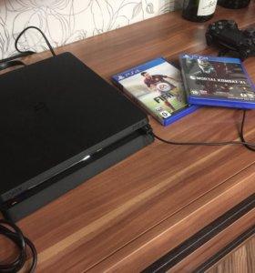 Продам sony PlayStation 4 slim 500gb